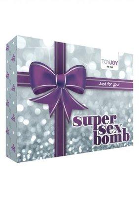 Super Sex Bomb Vibrator Cadeauset - Paars