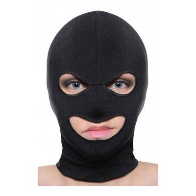 Masker met oog en mond opening
